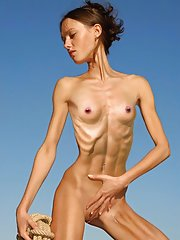 Anorexic nudes for skinny fans